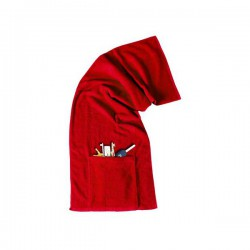Sports Towel with Pocket N Zip
