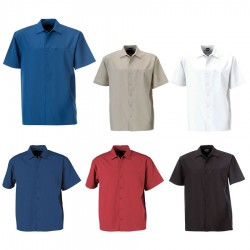 Men's Woven Shirt (Short Sleeve)