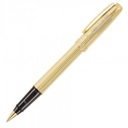 Prelude Fluted 22K Gold - Roller Ball