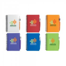 BIC Plastic Cover Notebook - Small