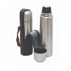 Bullet Flask Silver 500Ml