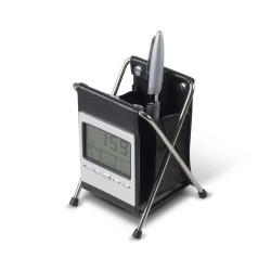 Pen Holder Desk Clock