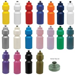 750ml BPA Free Screwtop Sports Bottle