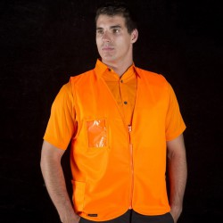 JBs HV Zip Safety Vest