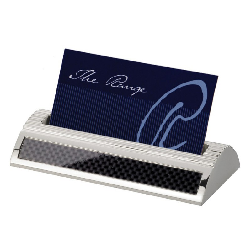 Carbon fibre business card holder branded promotional business carbon fibre business card holder reheart Choice Image