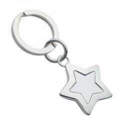Star Shaped Keyring