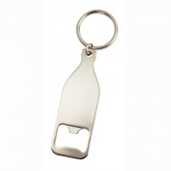 Bottle Shaped Opener Keyring