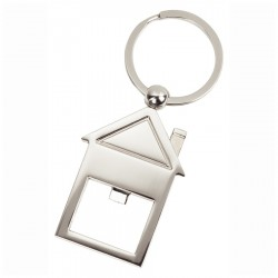 House Shaped Opener Keyring