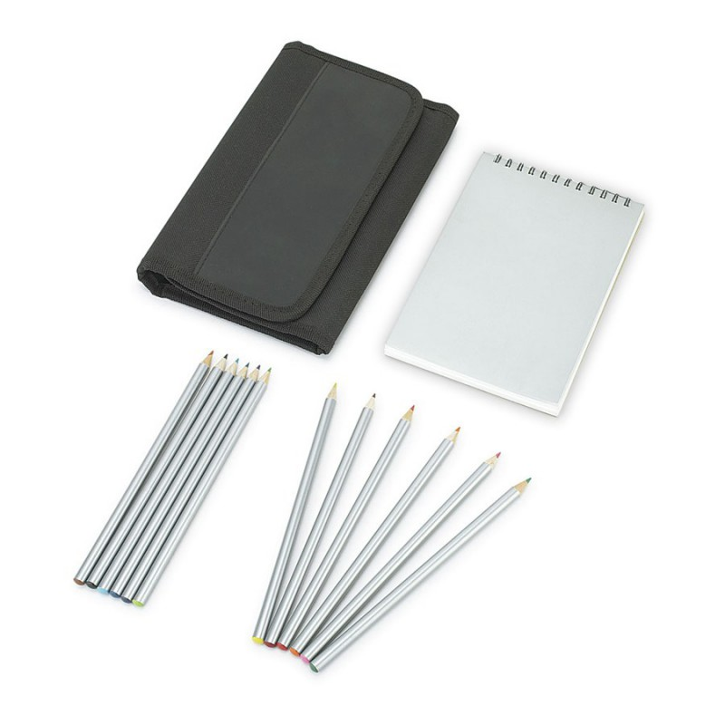 pad and pencil set branded promotional pencils 1374tr