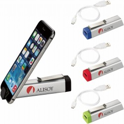 Trance Power Bank with Phone Stand