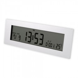 Aluminium Digital Desk Clock