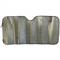 Concertina Metallic Car Sun Shade - O/S Production