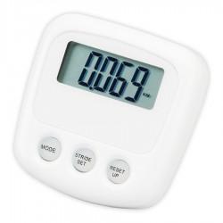 White Pedometer