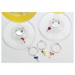 Wine Charms - Cocktail Glass Shape