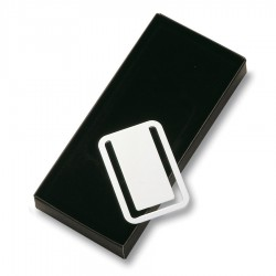 Nickel Plated Bookmark / Money clip