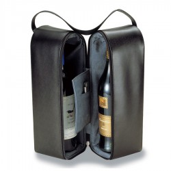 Insulated Two Bottle Wine Carriers