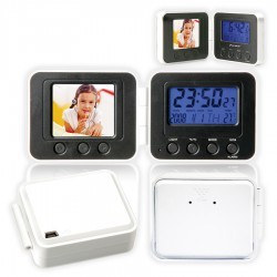 1.8'' Digital Photo Frame with Alarm Clock
