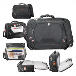 Elleven Checkpoint Friendly Compu-Messenger Bag