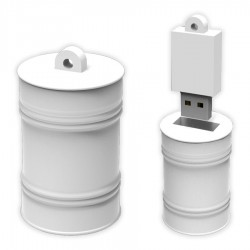 Oil Drum Large PVC Flash Drive