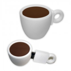 Coffee Cup PVC Flash Drive
