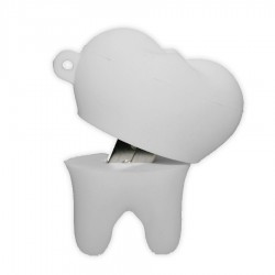 Tooth PVC Flash Drive