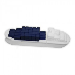 Container Ship PVC Flash Drive