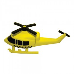 Helicopter PVC Flash Drive
