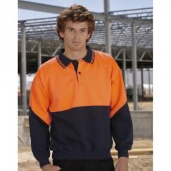 L/S Fluoro Fleece Cont Top