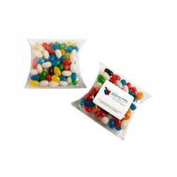 Jelly Beans in Pillow Pack 100G (Mixed Colours or Corporate Colours)