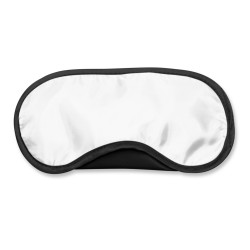 Black Custom Printed Sleeping Eye Mask
