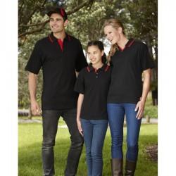 Kids Pique Knit Twin Stripe
