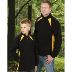 Kids Splice Poly Fleece Jacket