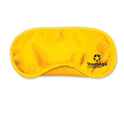 Yellow Travel Eye Mask