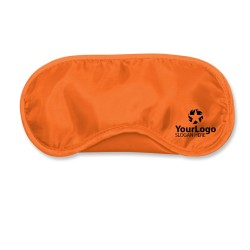 Orange Travel Eye Mask