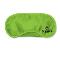 Bright Green Travel Eye Mask