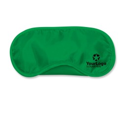 Dark Green Travel Eye Mask