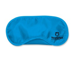 Light Blue Travel Eye Mask