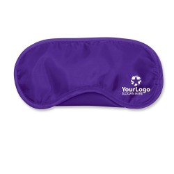 Purple Travel Eye Mask