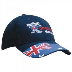 Brushed Cotton Waving Flag Cap