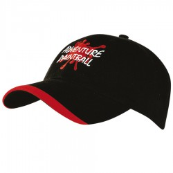 Brushed Heavy Sports Twill Cap with Contour Trim