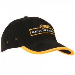 Brushed Heavy Cotton Cap with Peak and Arch Trim