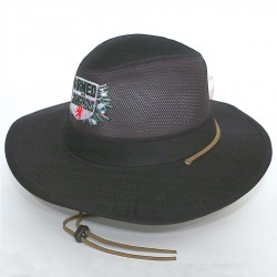 Safari Cotton Twill & Mesh Hat