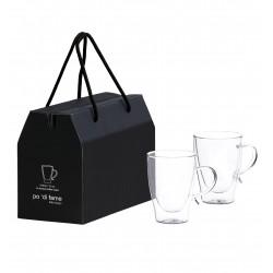 Aroma Glass Coffee Cup Set