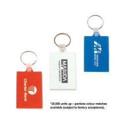 Rectangular Soft PVC Keytag
