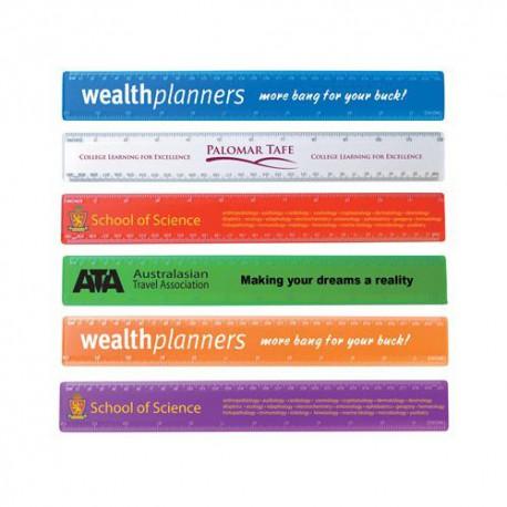 Transparent 30cm Premium Plastic Ruler