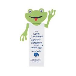 Fred-Rick Frog Magnetic Bookmark