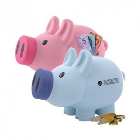 Priscilla (Pink) / Patrick (Blue) Pig Coin Bank®