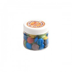 Choc Beans in Plastic Jar 65G (Mixed Colours)
