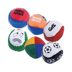 Custom PVC Hacky Sacks / Juggling Balls