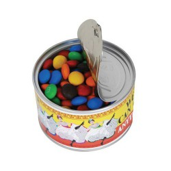 M&M's in Ring Pull Can